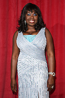 Ellen Thomas<br /> arrives for the British Soap Awards 2016 at Hackney Empire, London.<br /> <br /> <br /> &copy;Ash Knotek  D3124  28/05/2016