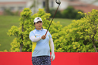 Shanshan Feng (CHN) in action on the 6th during Round 2 of the HSBC Womens Champions 2018 at Sentosa Golf Club on the Friday 2nd March 2018.<br /> Picture:  Thos Caffrey / www.golffile.ie<br /> <br /> All photo usage must carry mandatory copyright credit (&copy; Golffile | Thos Caffrey)