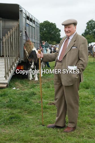 Barnet Gypsy Horse Fair Hertfordshire UK.
