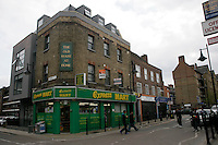 Express Mart on Watney Street in Shadwell, east London, UK