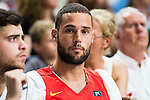 Watford FC player Mario Suarez during Liga Endesa 2015/2016 Finals 4th leg match at Barclaycard Center in Madrid. June 20, 2016. (ALTERPHOTOS/BorjaB.Hojas)