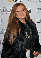 LONDON, ENGLAND - NOVEMBER 28: Maisie Smith at the Comedy Central's FriendsFestive exhibition VIP launch, Old Truman Brewery, Hanbury Street on Thursday 28 November 2019 in London, England, UK. <br /> CAP/CAN<br /> ©CAN/Capital Pictures