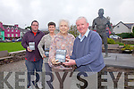 At the launch of the Casey Brothers DVD in Sneem on Friday last were l-r; Anthony Reardon, Patricia Curtin, Myrtle Casey & Christy Reardon.