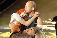 The Fifth Element (1997) <br /> Milla Jovovich &amp; Bruce Willis<br /> *Filmstill - Editorial Use Only*<br /> CAP/KFS<br /> Image supplied by Capital Pictures