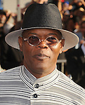 "HOLLYWOOD, CA - JULY 19: Samuel L. Jackson attends the Los Angeles Premiere of ""Captain America: The First Avenger"" at the El Capitan Theatre on July 19, 2011 in Hollywood, California."