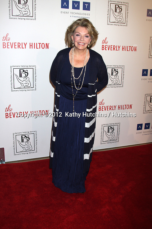 LOS ANGELES - MAR 18:  Susan Seaforth Hayes arrives at the Professional Dancer's Society Gypsy Awards at the Beverly Hilton Hotel on March 18, 2012 in Los Angeles, CA