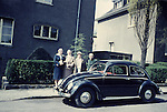 Europe, DEU, Germany, North Rhine Westphalia, Rhine Ruhr District, Ruhr Area, Lower Rhine, Duisburg, In the sixties, Historical image, People group, Car, Volkswagen, VW, Historic image from the sixties., Traffic, Car, Cars, Transportation, Street, Mobil, Hystory, Historic, Historical, Historical image, Historical photography, Contemporary, Historic image, Historic photography....Europa, DEU, Deutschland, Nordrhein Westfalen, Ruhrgebiet, Niederrhein, Duisburg, 60er Jahre, Historische Aufnahme, Personengruppe, Volkswagen, VW, Historische Fotografie die in den 60er Jahren entstand und den Zeitgeist der damaligen Zeit symbolisiert., Gesellschaft, Lebenswelten, Lebensraeume, Gesellschaftliche Themen, Soziale Themen, Historisch, Geschichte, Geschichtliches, Historische Aufnahme, Historische Fotografie....[For each utilisation of my images my General Terms and Conditions are mandatory. Usage only against use message and proof. Download of my General Terms and Conditions under http://www.image-box.com or ask for sending. A clearance before usage is necessary. Material is subject to royalties. Each utilisation of my images is subject to a fee in accordance to the present valid MFM-List. Contact: Uwe Schmid-Photography, Duisburg, Germany, Tel. (+49).2065.677997,..schmid.uwe@onlinehome.de, www.image-box.com]