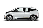 Car Driver side profile view of a 2017 BMW i3 Range-Extender 5 Door Hatchback Side View