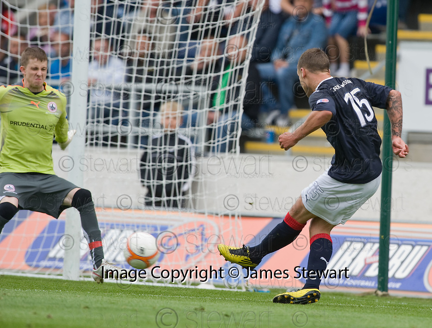 21/08/2010   Copyright  Pic : James Stewart.sct_jsp014_falkirk_v_stirling_alb  .:: JACK COMPTON SCORES THE THIRD :: .James Stewart Photography 19 Carronlea Drive, Falkirk. FK2 8DN      Vat Reg No. 607 6932 25.Telephone      : +44 (0)1324 570291 .Mobile              : +44 (0)7721 416997.E-mail  :  jim@jspa.co.uk.If you require further information then contact Jim Stewart on any of the numbers above.........