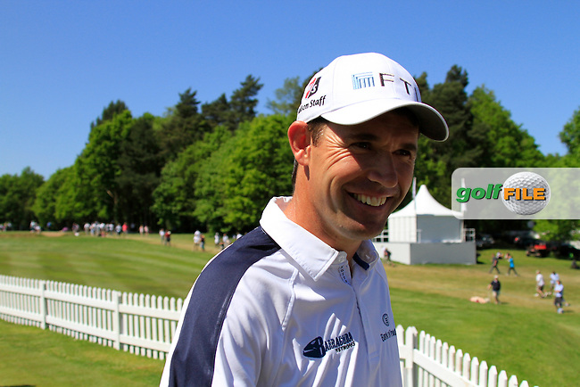 Padraig Harrington on the practice green before he starts the Final Round of the BMW PGA Championship at  Wentworth, Surrey, England, 23rd May 2010...Photo Golffile/Eoin Clarke.(Photo credit should read Eoin Clarke www.golffile.ie)....This Picture has been sent you under the condtions enclosed by:.Newsfile Ltd..The Studio,.Millmount Abbey,.Drogheda,.Co Meath..Ireland..Tel: +353(0)41-9871240.Fax: +353(0)41-9871260.GSM: +353(0)86-2500958.email: pictures@newsfile.ie.www.newsfile.ie.
