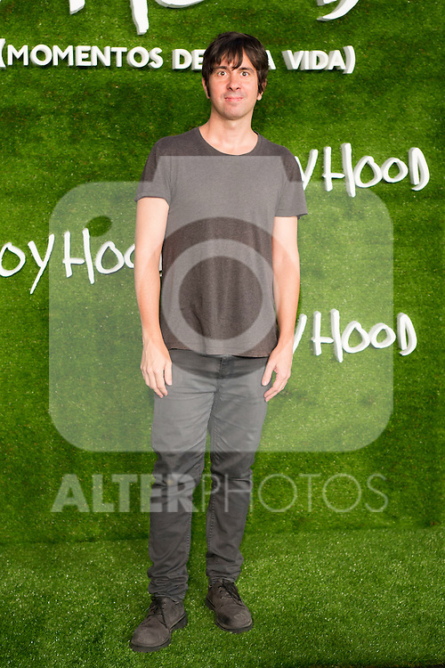 "Eduardo Chapero Jackson attend the photocall of the Premiere of the movie ""Boyhood"" at the Cineteca in Madrid, Spain. September 09, 2014. (ALTERPHOTOS/Carlos Dafonte)"