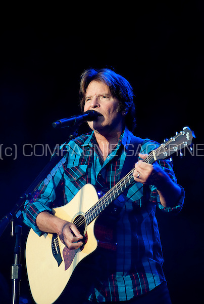 American rock singer, songwriter, and guitarist John Fogerty at the Suikerrock kick-off festival in Tienen (Belgium, 20/07/2010)