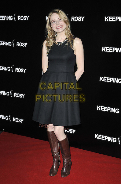 LONDON, ENGLAND - JUNE 26: Christine Bottomley attends the &quot;Keeping Rosy&quot; UK film premiere, Hackney Picturehouse, Mare St., on Thursday June 26, 2014 in London, England, UK.<br /> CAP/CAN<br /> &copy;Can Nguyen/Capital Pictures