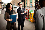 Michelle Rhee and her staff look for a home for StudentsFirst, her new public education advocacy group, in Sacramento, Calif., February 4, 2011.