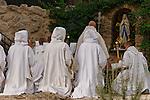 "Israel, ""La fete du Corps du Christ"" holiday at Beth Gemal Monastery"