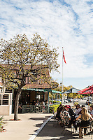 Mortensen's Danish Bakery (left) and The Greenhouse Cafe (right), Solvang, California. Images are available for editorial licensing, either directly or through Gallery Stock. Some images are available for commercial licensing. Please contact lisa@lisacorsonphotography.com for more information.