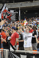 DC United fans.   DC United tied The Colorado Rapids 1-1, at RFK Stadium, Saturday  May 14, 2011.