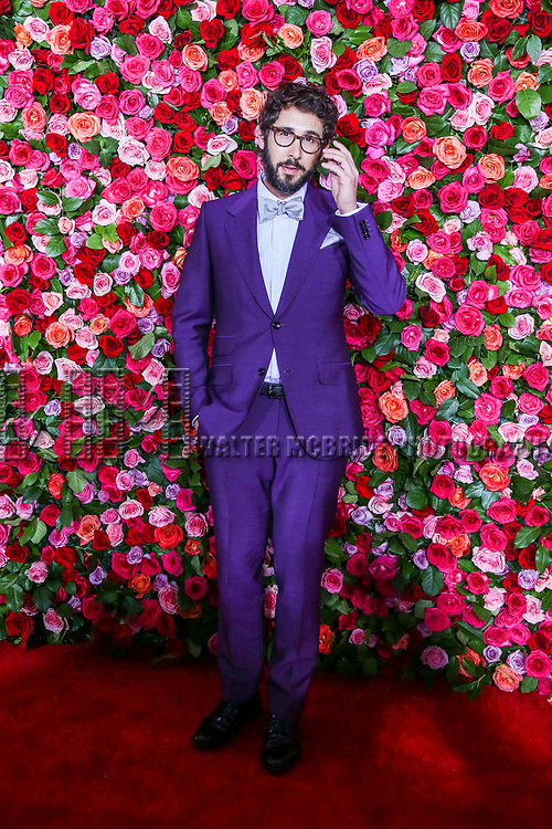 NEW YORK, NY - JUNE 10:  Josh Groban attends the 72nd Annual Tony Awards at Radio City Music Hall on June 10, 2018 in New York City.  (Photo by Walter McBride/WireImage)