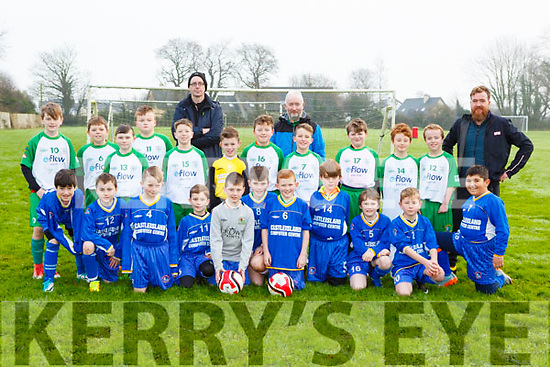 The Castleisland AFC u 11 teams that played LB Rovers in CAstleisland on Saturday