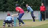 Cricket Scotland - T20 Blitz - Ross Lyons bowling - picture by Donald MacLeod - 03.09.08.2017 - 07702 319 738 - clanmacleod@btinternet.com - www.donald-macleod.com