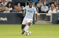 Kansas City, KS - Wednesday September 20, 2017: 	Jimmy Medranda during the 2017 U.S. Open Cup Final Championship game between Sporting Kansas City and the New York Red Bulls at Children's Mercy Park.