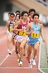(L-R) Suguru Osako (Waseda University), Akinobu Murasawa (Tokai University),MAY 22nd, 2011 - Athletics :90th Kanto Intercollegiate Athletics Championships, Men's first division final, at Natioanl Stadium in Tokyo, Japan. (Photo by Hitoshi Mochizuki/AFLO)
