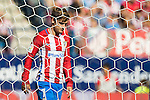Antoine Greizmann of Atletico Madrid in action during their La Liga match between Atletico Madrid and Deportivo de la Coruna at the Vicente Calderon Stadium on 25 September 2016 in Madrid, Spain. Photo by Diego Gonzalez Souto / Power Sport Images