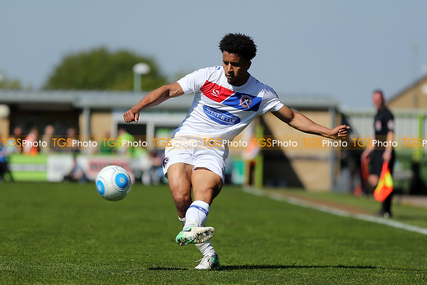 Joe Widdowson of Dagenham and Redbridge during Forest Green Rovers vs Dagenham & Redbridge, Vanarama National League Play-Off Football at The New Lawn on 7th May 2017