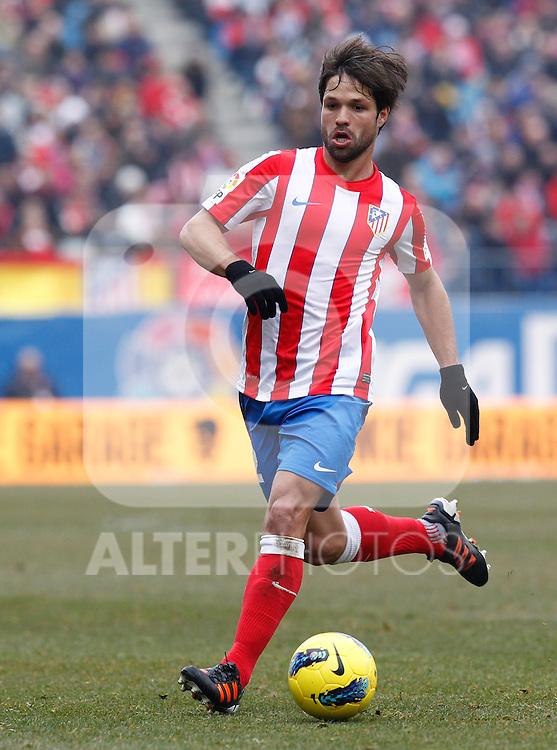 Madrid  15/01/2012 .- Liga BBVA..Jornada nº 19.Atco. Madrid-Villarreal..Diego Rivas.....