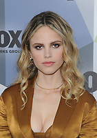 NEW YORK, NY - MAY 14: Halston Sage at the 2018 Fox Network Upfront at Wollman Rink, Central Park on May 14, 2018 in New York City.  <br /> CAP/MPI/PAL<br /> &copy;PAL/MPI/Capital Pictures