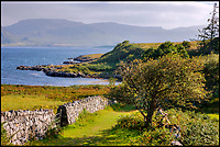 BNPS.co.uk (01202 558833)<br /> Pic: KnightFrank/BNPS<br /> <br /> A coastal path gives you stunning views of Mull.<br /> <br /> How the Ulva half live - Escape to your own Scottish island..If you have &pound;4.25 million to spare.<br /> <br /> This stunning Scottish island that inspired writers including Beatrix Potter and Sir Walter Scott has just gone on the market.<br /> <br /> Ulva is the second largest island of the Inner Hebrides at 4,583 acres, but the new owners will have to be happy going back to basics as it can only be reached by ferry, has no tarmac roads and just 16 people live there, mostly farmers.<br /> <br /> It is described by agents Knight Frank as one of the finest private islands in northern Europe and is on the market for the first time in more than 70 years.<br /> <br /> The sale includes a seven-bedroom house, a church, a restaurant and tea room, and eight other properties. There are also farm buildings to support the agricultural and livestock operation.