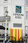 The Langham Hotel on Eastboune seafront