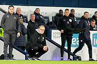 Leeds United manager Marcelo Bielsa struggles to hide his frustration on the touchline<br /> <br /> Photographer David Shipman/CameraSport<br /> <br /> The EFL Sky Bet Championship - West Bromwich Albion v Leeds United - Saturday 10th November 2018 - The Hawthorns - West Bromwich<br /> <br /> World Copyright © 2018 CameraSport. All rights reserved. 43 Linden Ave. Countesthorpe. Leicester. England. LE8 5PG - Tel: +44 (0) 116 277 4147 - admin@camerasport.com - www.camerasport.com