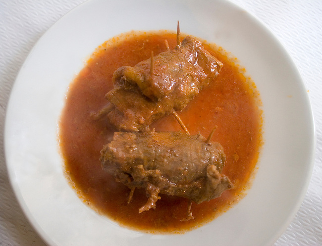 Beef, Pan Da Tonino Restaurant, Rome, Italy