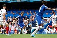 Christian Pulisic of Chelsea during the Premier League match between Chelsea and Sheff United at Stamford Bridge, London, England on 31 August 2019. Photo by Carlton Myrie / PRiME Media Images.