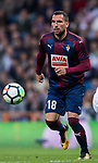 Anaitz Arbilla Zabala of SD Eibar in action during the La Liga 2017-18 match between Real Madrid and SD Eibar at Estadio Santiago Bernabeu on 22 October 2017 in Madrid, Spain. Photo by Diego Gonzalez / Power Sport Images