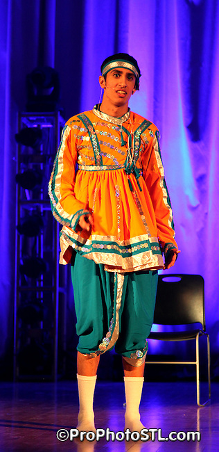 Indian Student Association spring 2014 show at Harris Stowe State University in St. Louis, MO on Apr 5, 2014.