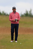 Thomas Aiken (RSA) on the 1st during Round 4 of the Aberdeen Standard Investments Scottish Open 2019 at The Renaissance Club, North Berwick, Scotland on Sunday 14th July 2019.<br /> Picture:  Thos Caffrey / Golffile<br /> <br /> All photos usage must carry mandatory copyright credit (© Golffile | Thos Caffrey)