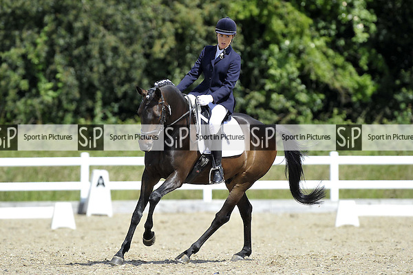 Class 2. British Dressage (BD). Brook Farm Training Centre. Essex. 24/06/2016. MANDATORY Credit Garry Bowden/Sportinpictures - NO UNAUTHORISED USE - 07837 394578
