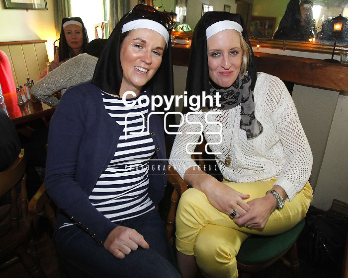 30/06/12 Aileen Aherne and Clodagh Dunleavy pictured at Ted Festival which took place in Kilfenora, Co. Clare over the weekend. Picture: Don Moloney / Press 22