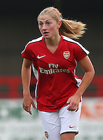 Laura Coombs of Arsenal - Arsenal Ladies vs Sparta Prague - UEFA Women's Champions League at Boreham Wood FC - 11/11/09 - MANDATORY CREDIT: Gavin Ellis/TGSPHOTO - Self billing applies where appropriate - Tel: 0845 094 6026