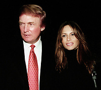 Donald Trump, Melanie Knauss, 1999, Photo By John Barrett/PHOTOlink