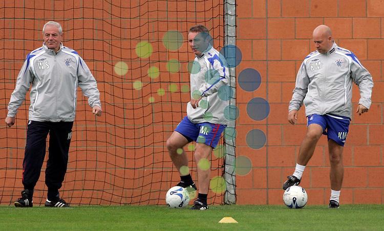 Rangers Training.Pic: Maurice McDonald/Universal News. 14/Sep/2007..