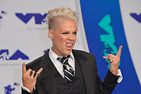 Pink at the 2017 MTV Video Music Awards at The &quot;Fabulous&quot; Forum, Los Angeles, USA 27 Aug. 2017<br /> Picture: Paul Smith/Featureflash/SilverHub 0208 004 5359 sales@silverhubmedia.com