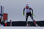 Virginia De Martin competes during the 5 Km Individual Free race of Tour de ski as part of the FIS Cross Country Ski World Cup  in Dobbiaco, Toblach, on January 8, 2016. American Jessica Diggins wins the race, ahead of Norway's Heidi Weng and third place for actual leader Ingvild Flugstad Oestberg from Norway. Credit: Pierre Teyssot
