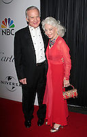 US astronaut Buzz Aldrin arrives with his wife Lois at the NBC/Universal Pictures/Focus Features Golden Globes after party at the Beverly Hilton Hotel, Beverly Hills, California, USA, on January 11, 2009.  The Golden Globes honour excellence in film and television.