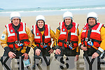 Calling all swimmers for the annual Banna Beach Christmas Swim which raises funds for Banna Sea Rescue a vital service for the region. .L-R John Riordan, Sean Horgan, Thomas Fitzgerald and Martin Woulfe