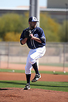 Brett Kennedy - San Diego Padres 2016 spring training (Bill Mitchell)