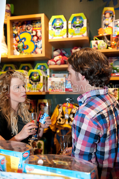 Pre-opening of the Disney Store in Antwerp with Flemish celebrities and their kids (Belgium, 03/05/2011)