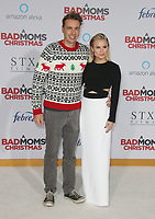 LOS ANGELES, CA - OCTOBER 30: Dax Shepard and Kristen Bell at the Los Angeles Premiere of A Bad Mom's Christmas at the Regency Village Theater Westwood in Los Angeles, California on October 30, 2017. Credit: Faye Sadou/MediaPunch /NortePhoto.com